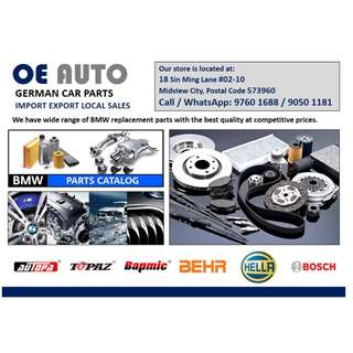 BMW Car servicing replacement parts CNY promotion free gift with min $100 purchase