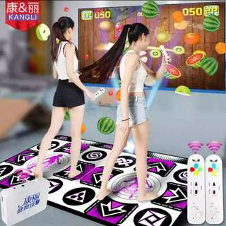 康丽高清跳舞毯双人电视接口电脑两用加厚体感游戏手舞足蹈跳舞机