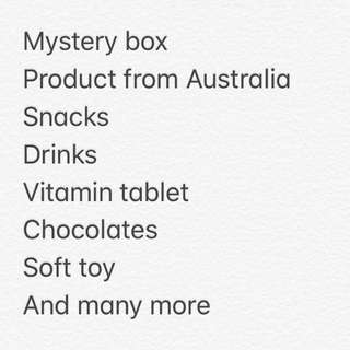 Interesting Mystery box!! Win a flight to Melbourne!