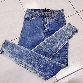 Punny High Waist Jeans