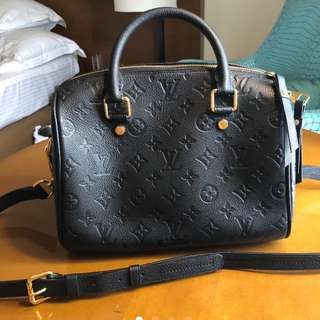FOR SALE: Louis Vuitton Empreinte Speedy Bandouliere 25/30/35.