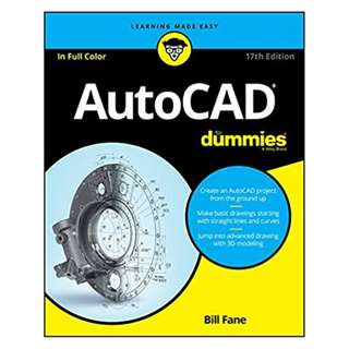 AutoCAD For Dummies 17th Edition by Bill Fane (Author)