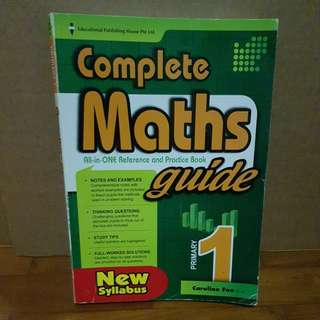 WTG Complete Maths Guide with any purchase