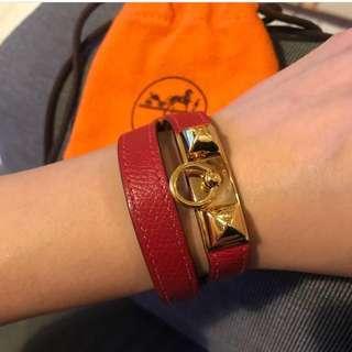 Hermes double tour bracelet