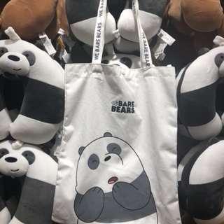 RUSH SELLING!!! We bare bears tote bag