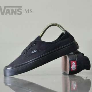 vans authentic fullblack waffle icc (made in cina )