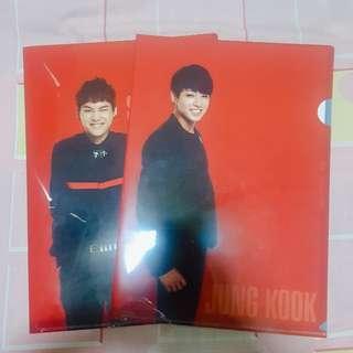 [WTS] BTS Suga & Jungkook L-Holder