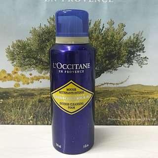 l'occitane intense cleansing foam 150ml