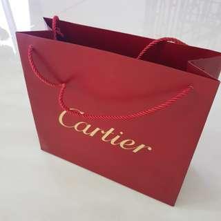 Cartier Paperbag