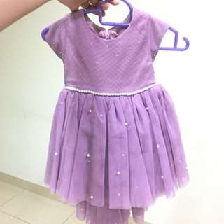 Tailormade dress for aqiqah