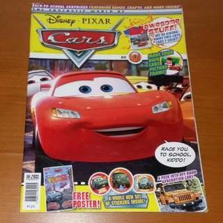Disney Pixar Cars Magazine #4