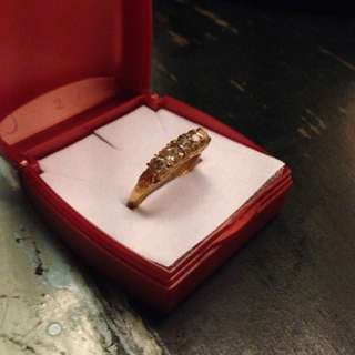 Peranakan Gold Gilt ring