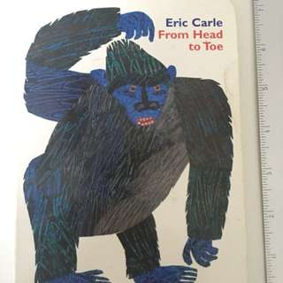 From Head To Toe (board bk) by Eric Carle
