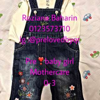baju baby perempuan brand mothercare