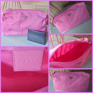 Prada Cosmetic Kit Large Pink