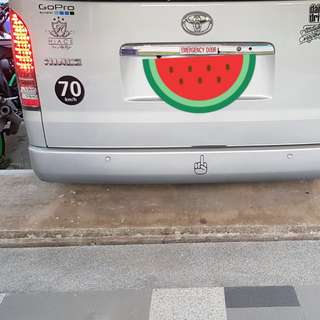 Hiace LED taillight