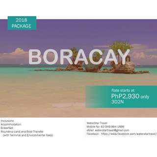 AFFORDABLE BORACAY PROMO PACKAGE