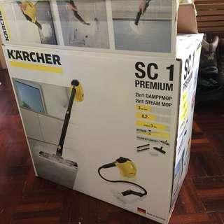 karcher sc1 premium + floor 2in1 steam mop 消毒蒸氣機