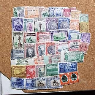 Lot British Commonwealth stamp mint