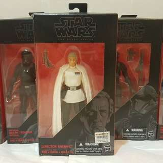 STAR WARS Black Series Krennic + Death Trooper