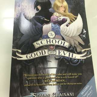 Preloved copy of The School for Good and Evil by Soman Chainani