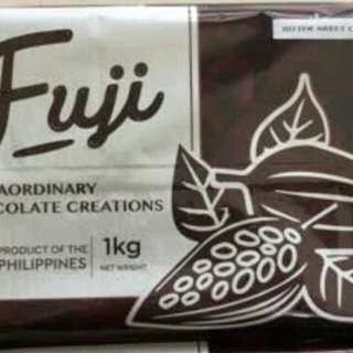 Fuji chocolate bar 1kg.