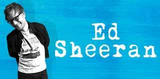 Ed Sheeran Sydney [A RESERVE AREA]