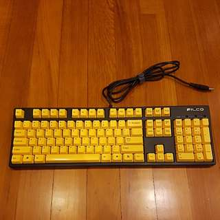 Filco Yellow Edition 104 key Cherry MX Black