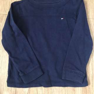 Tommy Hilfiger Navy Blue Pull over