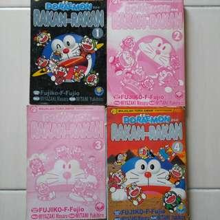 Doraemon & Rakan-rakan Vol 1, 2, 3 and 4!