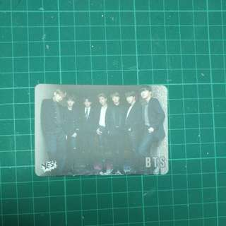 30期yes card bts