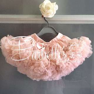 Budget Tutu skirt - Baby (Pale Apricot)