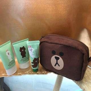 Innisfree Hand Cream , Shampoo, conditioner with bag