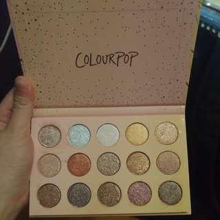 (Op: $17x) Golden state of mind eyeshadow palette