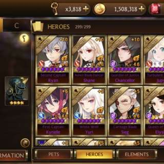 Cheap Seven Knights Account