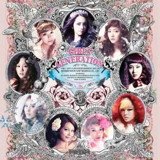 Girls generation 3rd album - the boys