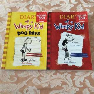 Diary Of A Wimpy Kid 100%New
