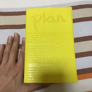 [BN] Pretty yellow Planner, weekly planner note book