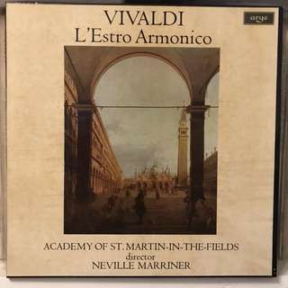 Vivaldi L'Estro Armonico Marriner ARGO ZRG 733-4 2-LP box set