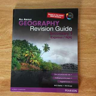 Sec 1 Express/NA Geography Revision Guide