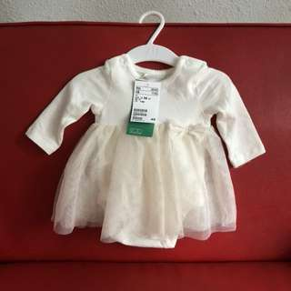 H&M baby romper dress