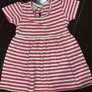 dress old navy size L (12 bulan-24 bulan)