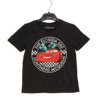 McQueen cars authentic cotton tshirt size 3-7yrs old