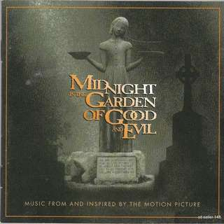 MY CD - OST MIDNIGHT GARDEN OF GOOD AND EVIL // FREE DELIVERY