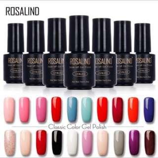 Classic Nail Gel Color UV LED 7ml #1323-1465