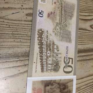 50 Singapore dollar collection