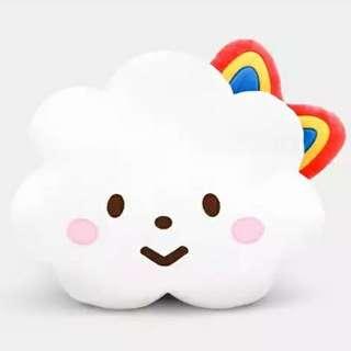 100%全新 Fluffy House 彩虹妹妹 白雲先生 咕𠱸 大攬枕 cushion 咕臣 Miss Rainbow