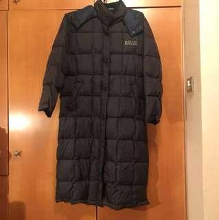 Polo 深藍色全新羽絨(長身款) 去冬天雪地地方一流