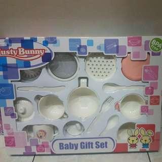 Baby gift set ( alat makan bayi)