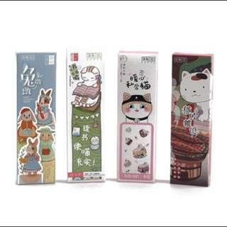 30pc Cat Bookmarks 🐱
